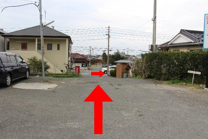 宮地嶽神社の駐車場4