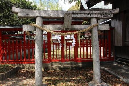 旗頭神社の写真