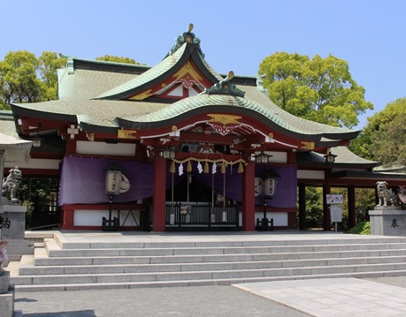 篠崎八幡宮の画像
